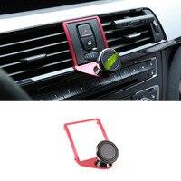 Alloy Car Air Vent Mobile Phone Holder Trim For BMW F22 F23 F30 F31 F34 F32 F33 F34 F35 F36 F80 F82 M4 2013 2019 With a M LOGO
