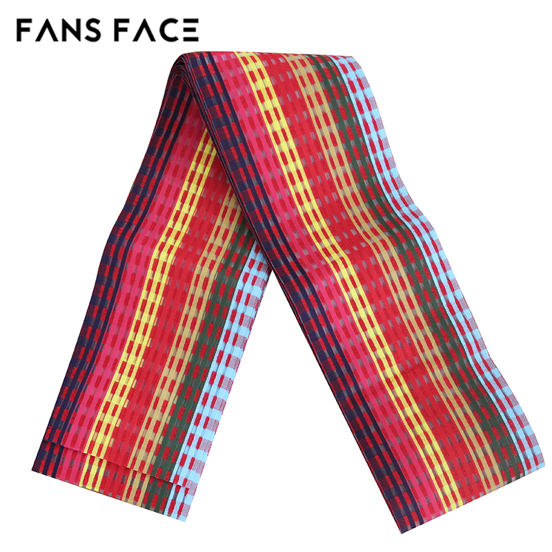 ФОТО African Latest Aso Oke Gele Head Tie For Wedding Nigeria Traditional Headwear 19 Colors Beautiful Elegant Stripe Designs