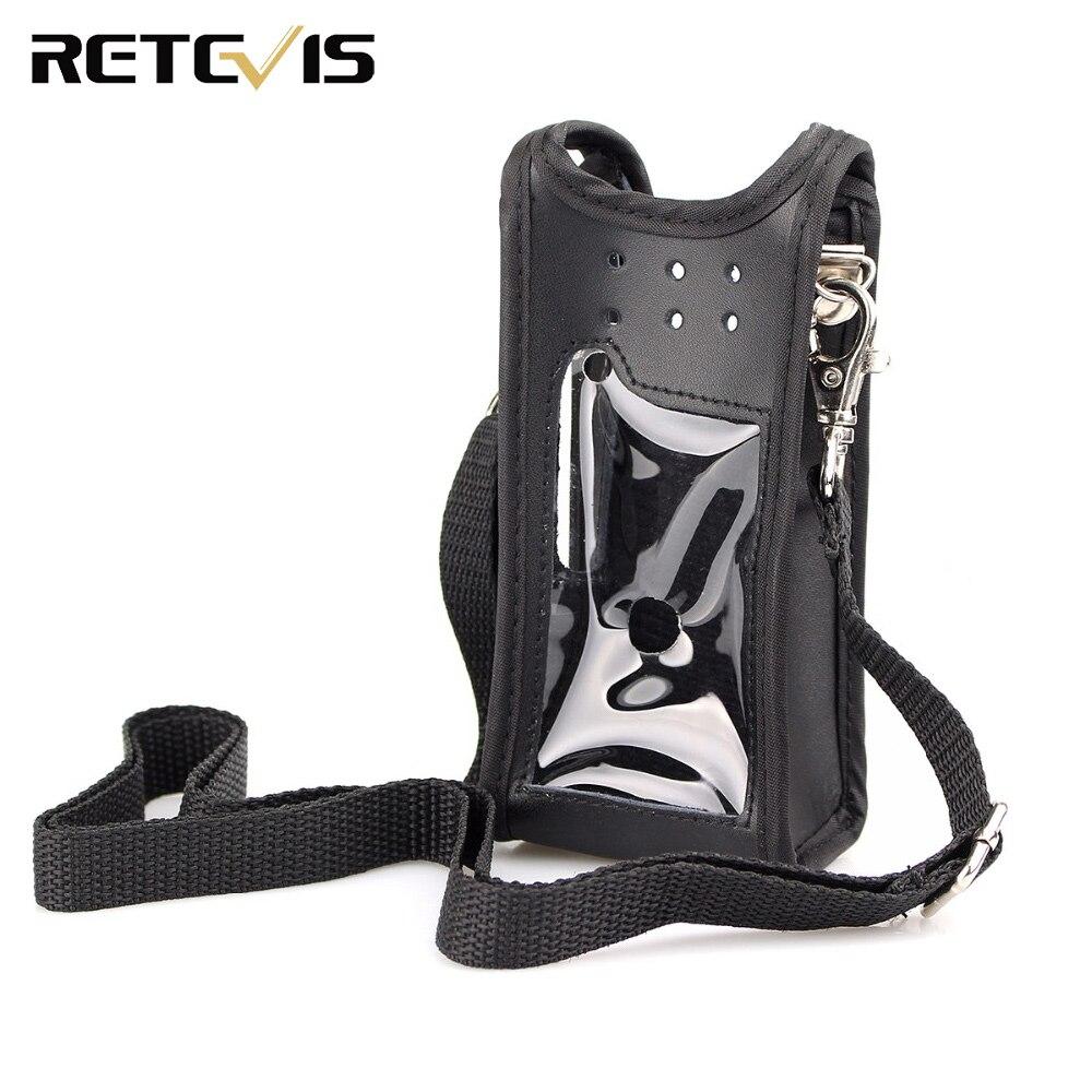 Black Radio Holster Accessories For Retevis RT82 Digital Walkie Talkie DMR Radio J9127H