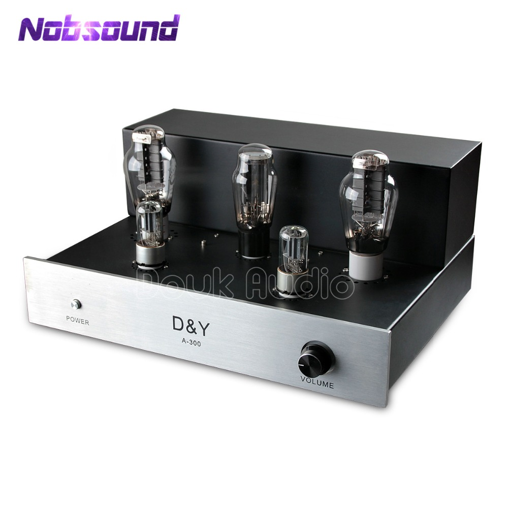 Nobsound Hi-Fi PSVANE 300B Tube Amplifier Audio Stereo Dual Channel Single-ended Amp 8W*2 Pure Handmade Finished Product douk audio pure handmade hi fi psvane 300b tube amplifier audio stereo dual channel single ended amp 8w 2 finished product