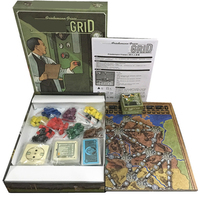 New Power Grid Board Game English Version ,Basis+3 Expansion Maps Game With English Instruction