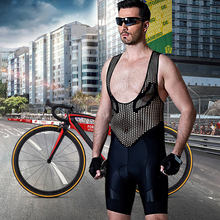 Santic Spexcel Breve Manicotto Cycling bib Shorts Men Polyester Breathable Quick-dry Culotes Cortos Ciclismo Hombre Gel M7C05094