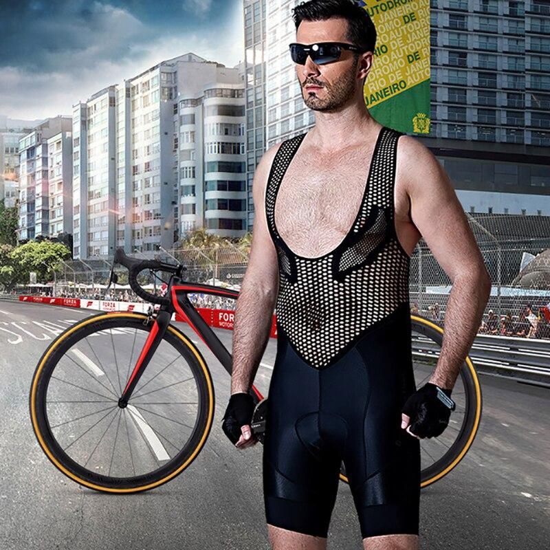 Santic Spexcel Breve Manicotto Vélo cuissard Hommes Polyester Respirant À Séchage Rapide Culotes Cortos Ciclismo Hombre Gel M7C05094