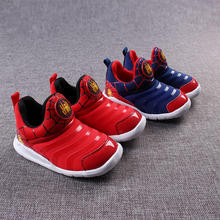 Children Shoes Boys Sport Sneakers High quality New Breathable Casual Boys Shoes Popular Spider-Man Network Running Girls Shoes