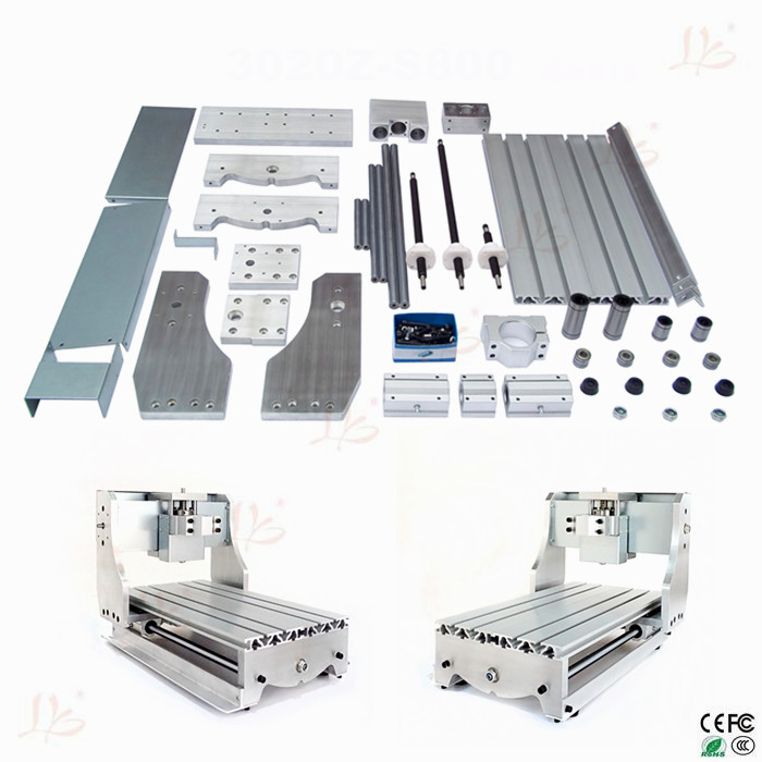 CNC frame for 3020 router DIY CNC table with trapezoidal screw  for small engraving machine, no tax to Russia no tax ship from factory new release diy 3040t cnc frame for 3040 cnc router with trapezoidal screw for milling machine frame