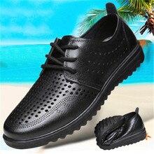 men wedding shoes microfiber leather formal business for man dress mens oxford flats Shoes Fashion office Men Black