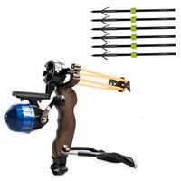 Hunting Shooting Bow arco Slingshot Pocket Shot tirachinas for Outdoor Bow Hunting Slingshot Fishing