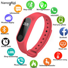 NEW M2 Smart Fashion Sport Watch Fitness Running Tracker Bracelet Step Count Distance Calorie Calculator Band For Men Women Kids(China)
