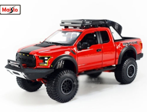 Maisto 1:24 OFF ROAD KINGS 2017 FORD F 150 F150 RAPTOR Pickup Diecast Model Car Toy New In Box Free Shipping
