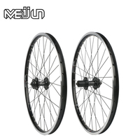 MEIJUN Charm Colt Mountain Bike Wheel Set 24 Inch Aluminum Alloy V Brake Disc Wheel Bicycle