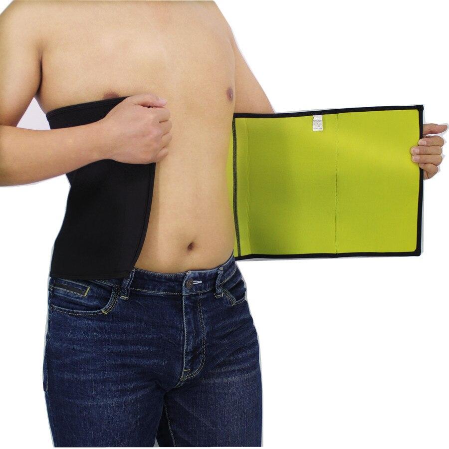 Man Body Shapers Belt Neoprene Waist Trainer Corset Slimming Fitness Shapewear Belt Wrap Workout Power Thermo Waist Cincher Belt