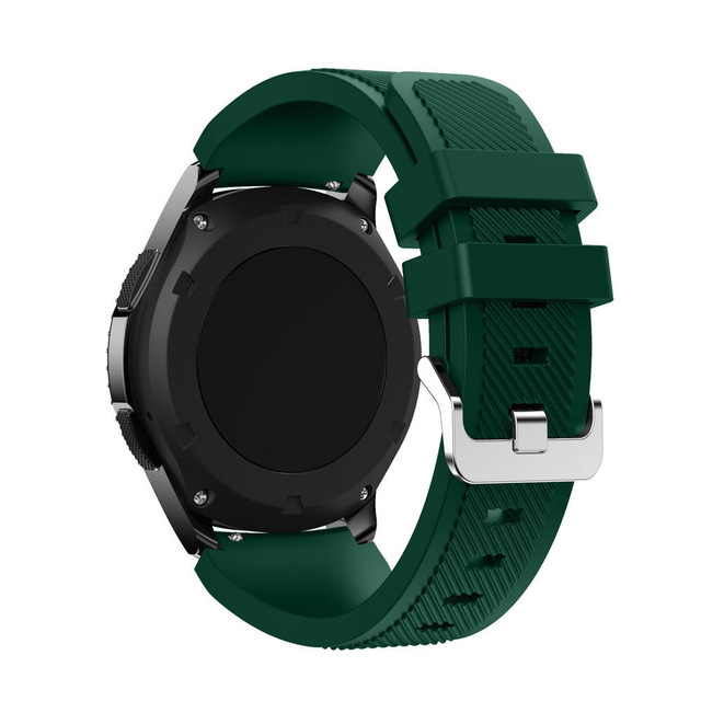 HOKE For Samsung Gear S3 Classic Frontier Sports Silicone Bracelet Watch Strap Band 22mm Watchbands Soft TPU Watch Bracelet | Watchbands