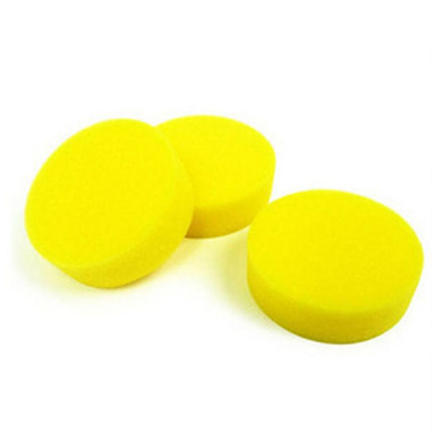 10Pcs Car Waxing Polish Foam Sponge Wax Applicator Cleaning Detailing Pads Sep 15