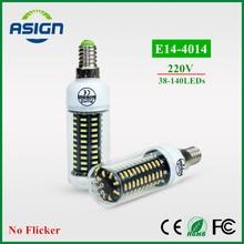 LED Bulbs Ultra High Lumen 4014 LED Corn Bulb E14 220V LED lamp light Chandelier 38LEDs 55LEDs 78LEDs 88LEDs 140LEDs Spotlight