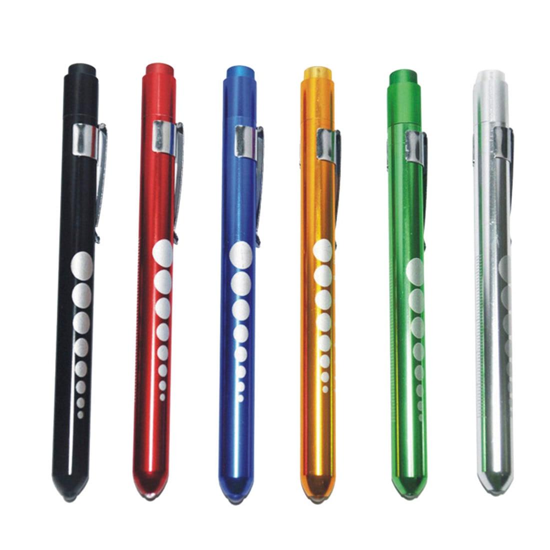 Medical Flashlight Pen Flashlight Pupil Lamp 1PC Penlight Torch Emergency Medical Doctor Nurse Surgical First Aid Necessity