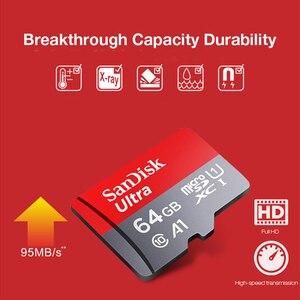Image 4 - Original Sandisk tarjeta micro sd 16 gb 32 gb 64 gb 200 gb cartao de carta de memoria micro sd 128 gb clase 10 de memoria de hasta 90 MB/S tarjeta