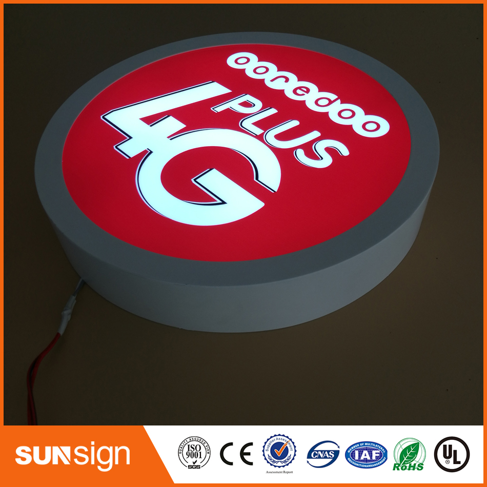Custom Size Led Letter Light Box According To You Idea