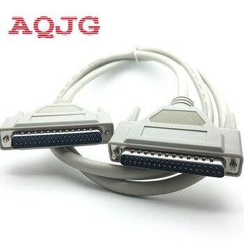 Db37 37Pin ذكر لذكر m/m المنفذ التسلسلي تمديد كابل بيانات الحبل كابل الطابعة الجديدة 2.8 متر DB37 aqjg malle إلى الإناث بالجملة