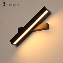 40CM 8W Modern Led Wall Light For Living room Bedroom Bedside room Lustre Black&White Wall Sconce Led Wall Lamps Indoor Lighting led wall lamps wall mounted sconces modern wall sconce lustre iron painted white black wall light 5w outdoor and indoor lighting