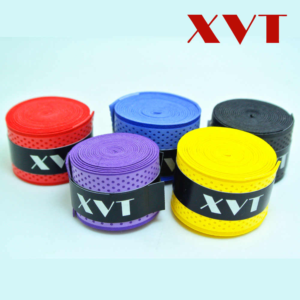 XVT eco-friendly Badminton/ Table Tennis Handle grip tape Tennis racket overgrip / squash Tape / fishing rod Tape 5pcs/lot