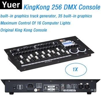 1Pcs Dj Apparatuur King Kong 256 DMX Controller LED Par Moving Head Licht Console DMX512 Professionele Podium Verlichting Controller