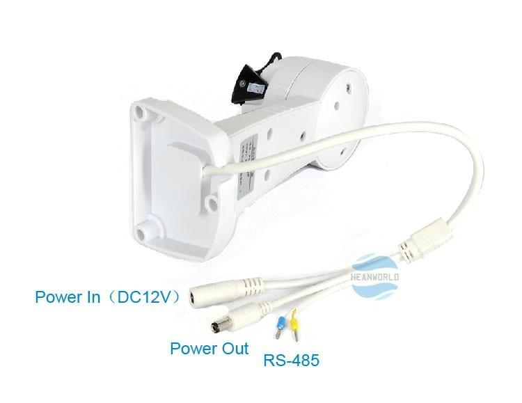 Electronic Rotating Pan Tilt PTZ Mount Bracket for CCTV Camera Support RS485 DVR