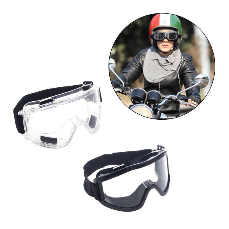 Safety Goggles Ski Snowboard Motorcycle Eyewear Glasses Eye Protection Lab JUN13