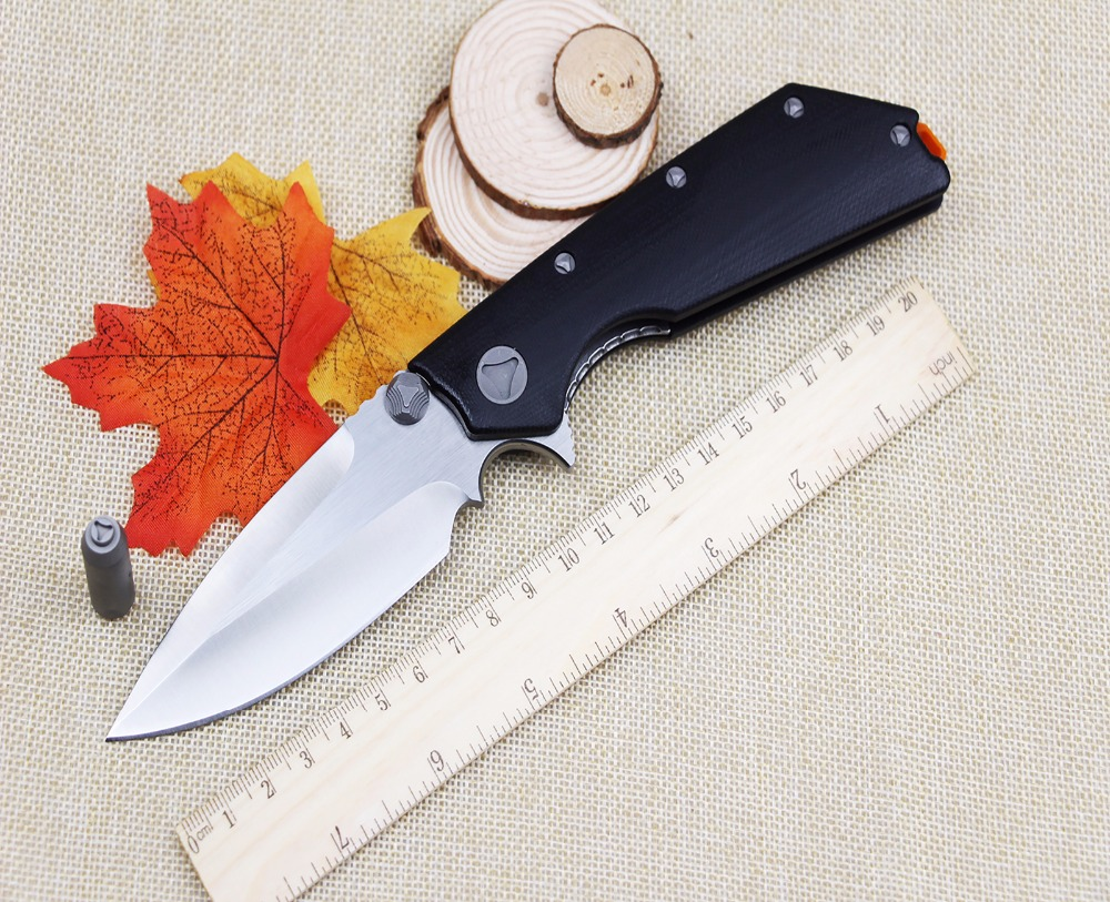 The new outdoor camping survival font b hunting b font folding font b knife b font