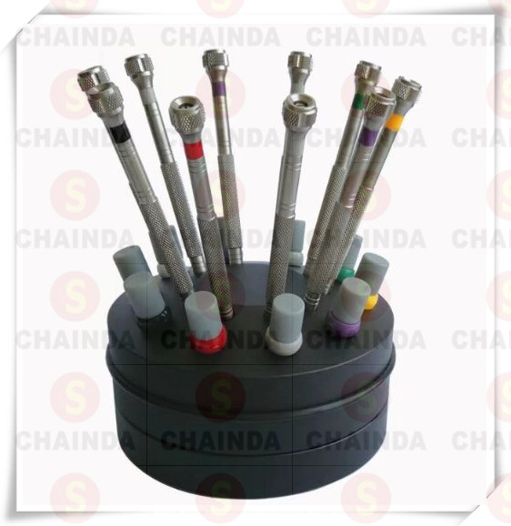 Free Shipping 10 PCs Stainless Steel Watch Screwdriver Set for Watch Repair цена 2017