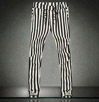 Metroseksueel Zwart-wit Gestreepte Harembroek Mannen Harembroek Hip Hop Dance Broek Camouflage Broek Mode Sexy Mens Broek Zebra