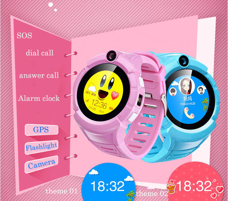 Q360 Kids GPS Smart Watch phone with Camera VM50 Location Child Touch smartwatch for children SOS Anti-Lost Tracker baby pk Q90