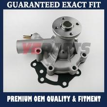 For Mitsubishi Motor Water Pump MM409302 MM409303 MM433424 K3E K4E S3L in Volvo Hoflader Terex