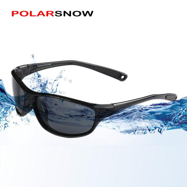 Polarsnow flutuantes óculos de sol das mulheres dos homens 2017 óculos polarizados óculos de visão clara flutuantes óculos de sol oculos masculino uv400 eyewear