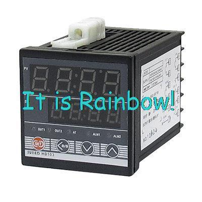 AC 110-220V K Thermocouple SSR PID Digital Temperature Control Controller