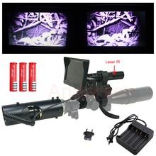 חם הכי חדש לציד אופטיקה מראה Carl Zeiss 4-16X40AOMC ראיית לילה אינפרא אדום riflescope עם פנס סוללה לפקח