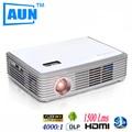 Aun HD 4 k Chip projetor 1280 * 8001500 ANSI Lumens projetor para Home Theater projetor 3D com wi fi Bluetooth4.0 Z2000SDG5