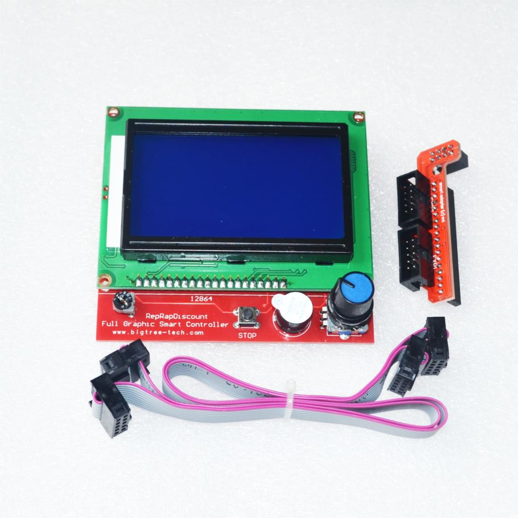 small resolution of cnc 3d printer kit for arduino mega 2560 r3 ramps 1 4 controller lcd 12864 6 limit switch endstop 5 a4988 stepper driver in integrated circuits from