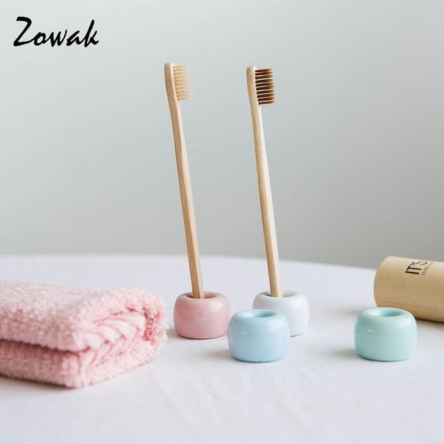 Ceramic Toothbrush Holder Porcelain Tooth Brush Stand Bathroom ...