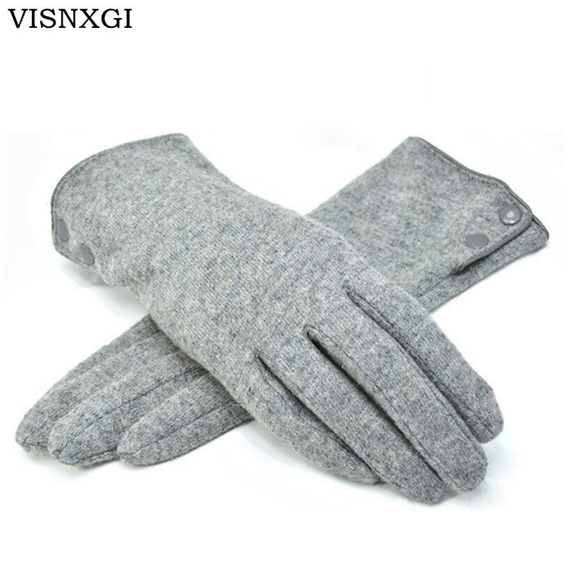 VISNXGI Design Fashion Women Gloves Autu
