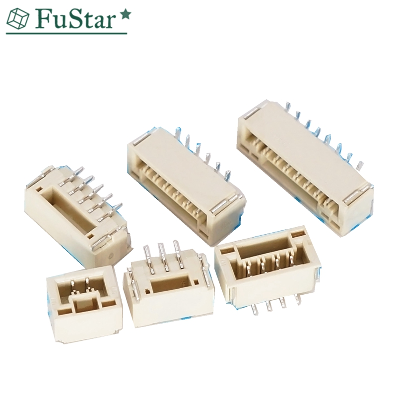 10PCS/LOT GH 1.25mm Lying With Lock Connector 2P 3P 4P 5P 6P 7P 8P SMT SMT JST A1257