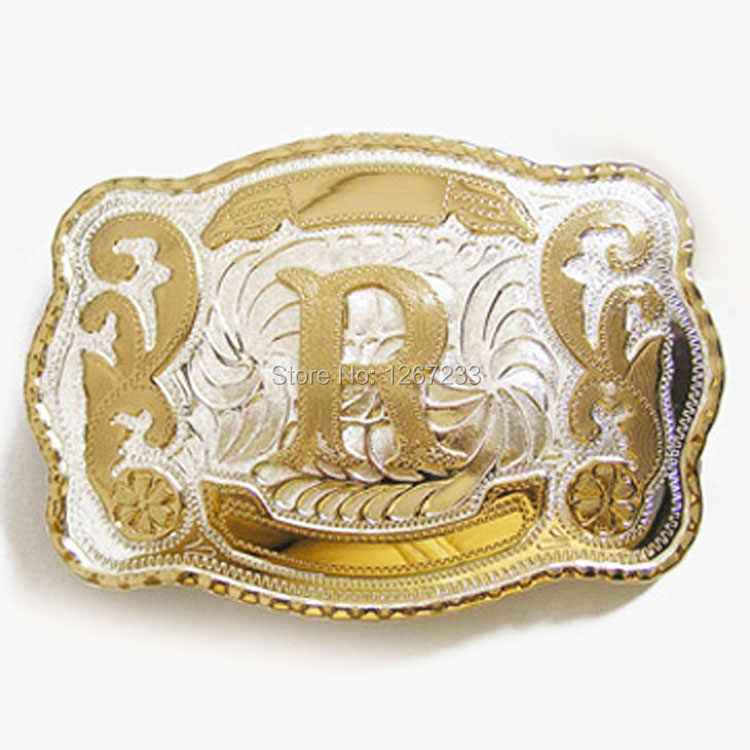 Western Cowboy Rodeo Deer Double Color Belt Buckle also Stock in US