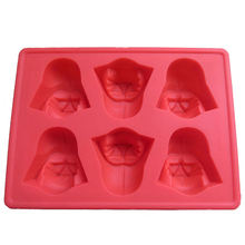 Star Wars Darth Vader Cocktails Silicone Mold Ice Cube Tray Chocolate Fondant Mould diy Bar Party Drink