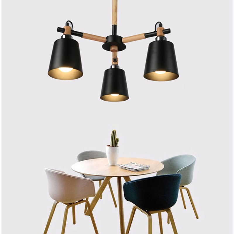 cheapest Nordic Long Tube Pendant Lights Hanging Kitchen Light White Black Golden Length Adjustable Home Dining Room Lighting Lights