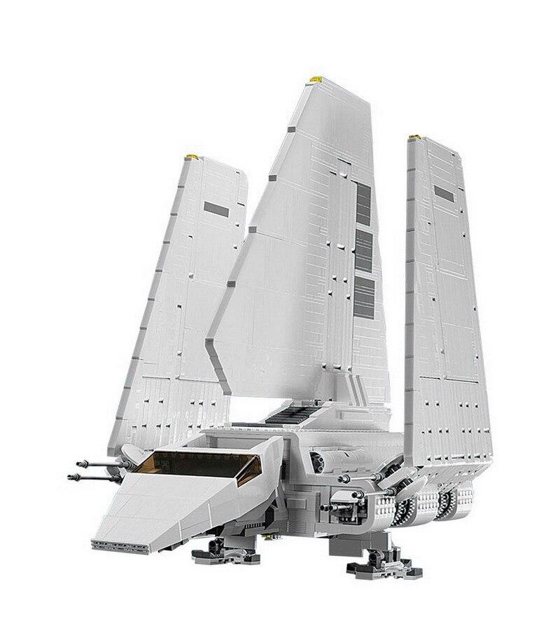 2503 шт. Лепин 05034 STAR WARS Imperial модель шаттла блоки, совместимые Legoe Строительство игрушки для детей