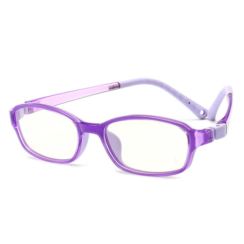VKUES Kids Blue Light Blocking Glasses Silicone Frame Computer Glasses Anti Blue Ray Children Transparent Reading Flat Mirror in Women 39 s Blue Light Blocking Glasses from Apparel Accessories