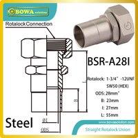 28mm ODS gerade SW50 hex rotalock ventil installiert in Ultra low temperatur ausrüstungen