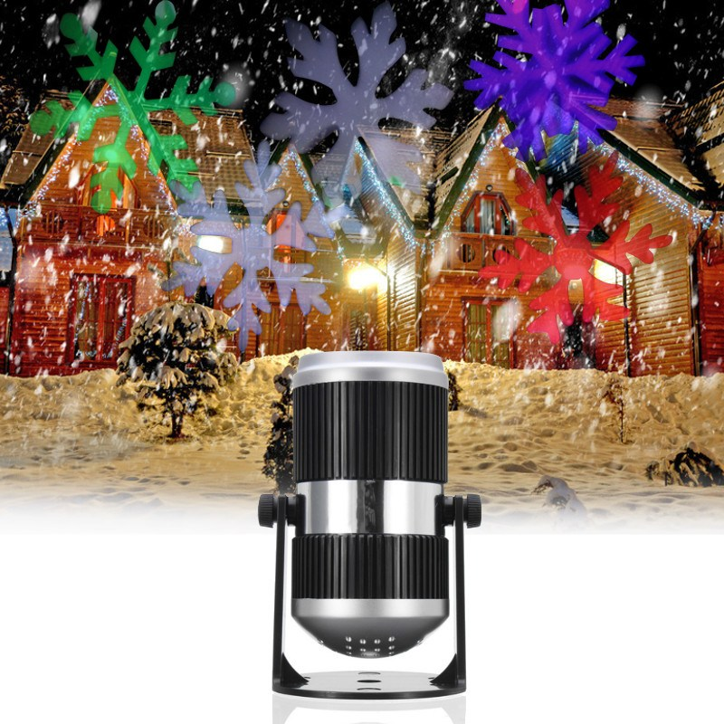 Smuxi Holiday Decoration Waterproof Outdoor LED Stage Lights Christmas Laser Snowflake Projector Lamp Home Garden Star Light laser shower waterproof outdoor laser light projector christmas holiday twinkling star lights garden decorations for home