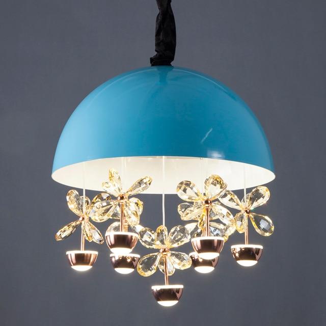 Moderne K9 Kristall Pendelleuchten Led Pendelleuchte Chrom Schmetterling Dekoration Schlafzimmer Wohnzimmer Leuchte 110 256 V