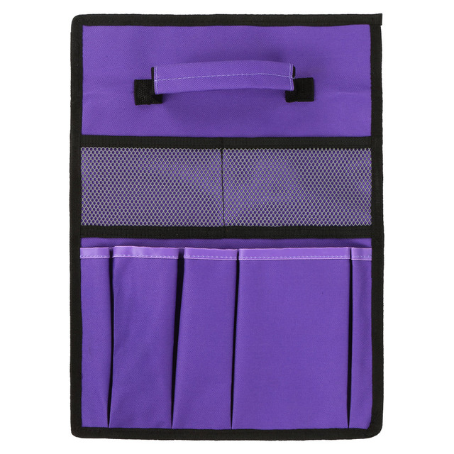 Foldable Stool Tool Storage Bag 600D Oxford Fabric Garden Tool Bag Tool Pouch For Kneeler Bench Folding Bag Stool Side Pocket 4