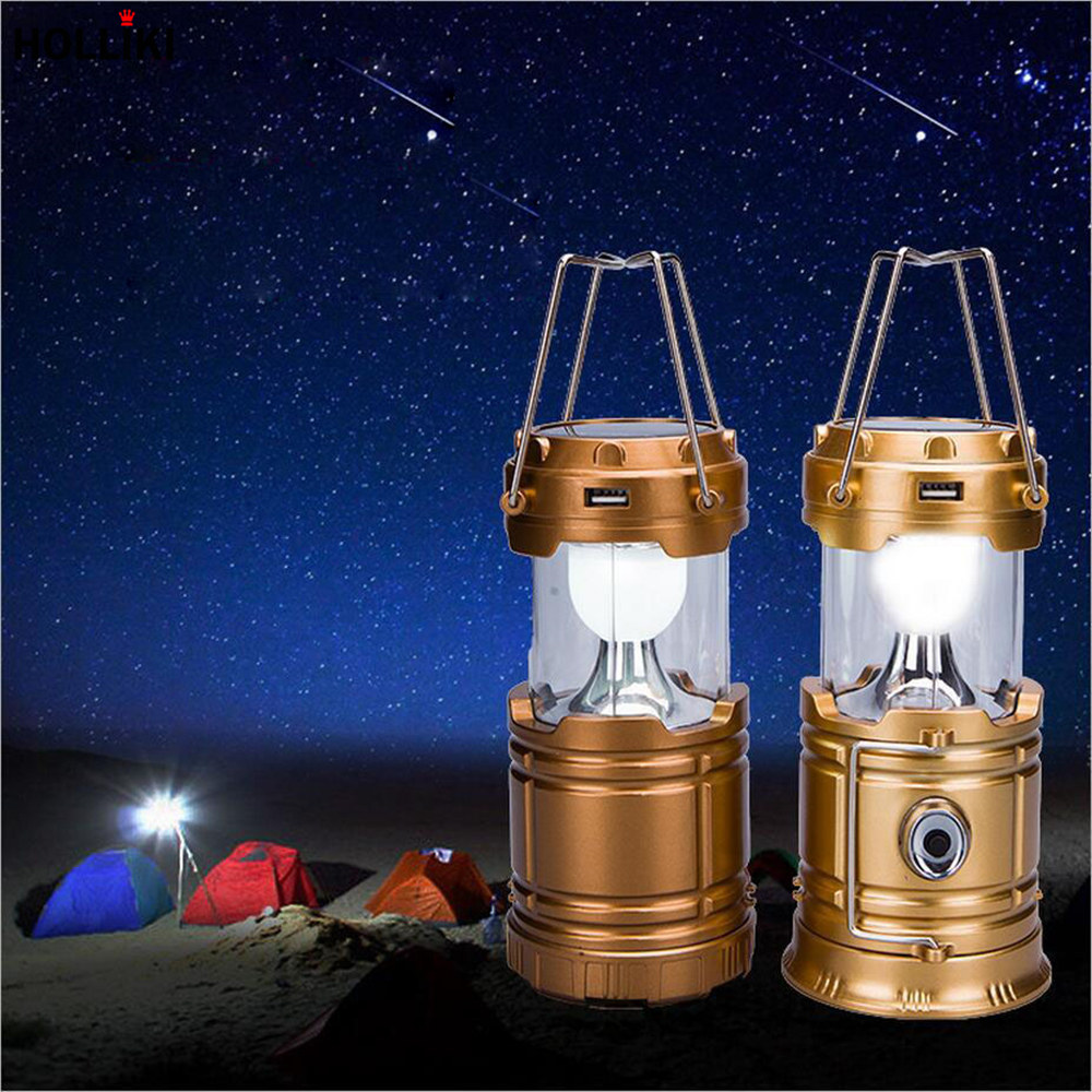 Solar C&ing Tent Lantern LED Multi Function USB 5V Rechargeable Night L& Light Hanging Portable Lantern for Outdoor Hiking-in Portable Lanterns from ... & Solar Camping Tent Lantern LED Multi Function USB 5V Rechargeable ...